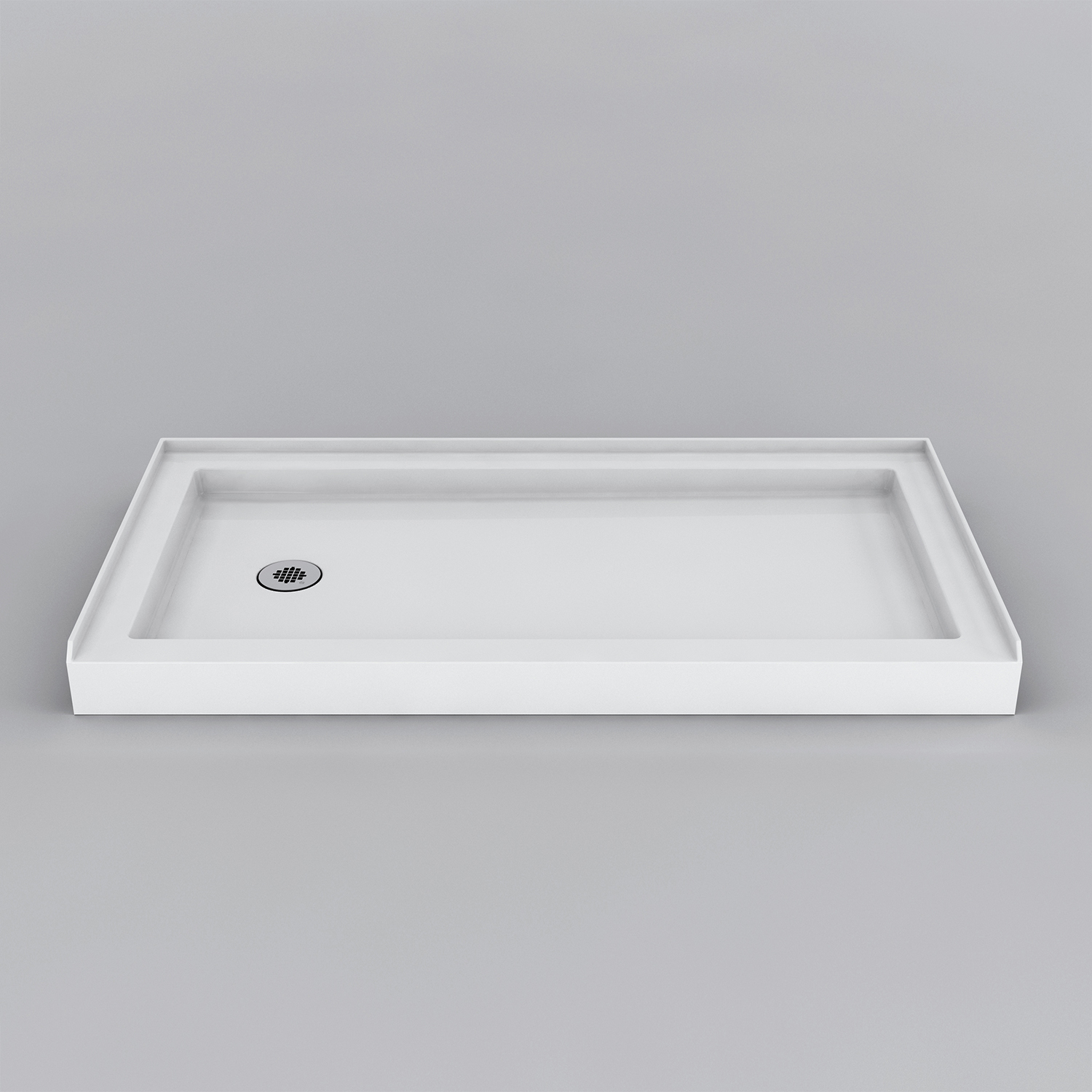 Rossini Round Front Shower Base - Acritec Industries
