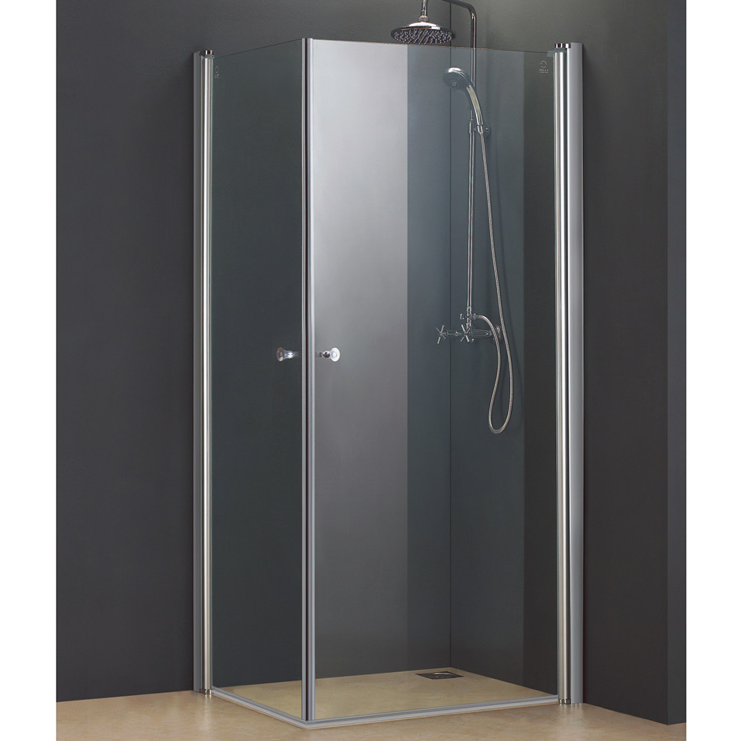 Double Threshold Pivoting Shower Doors Acri Tec Industries