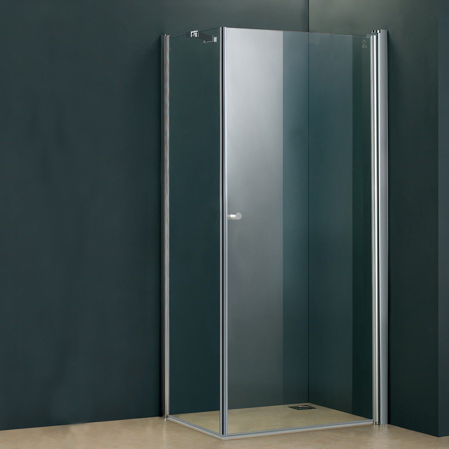 Ruxton Double Threshold Pivoting Shower Doors Acritec Industries