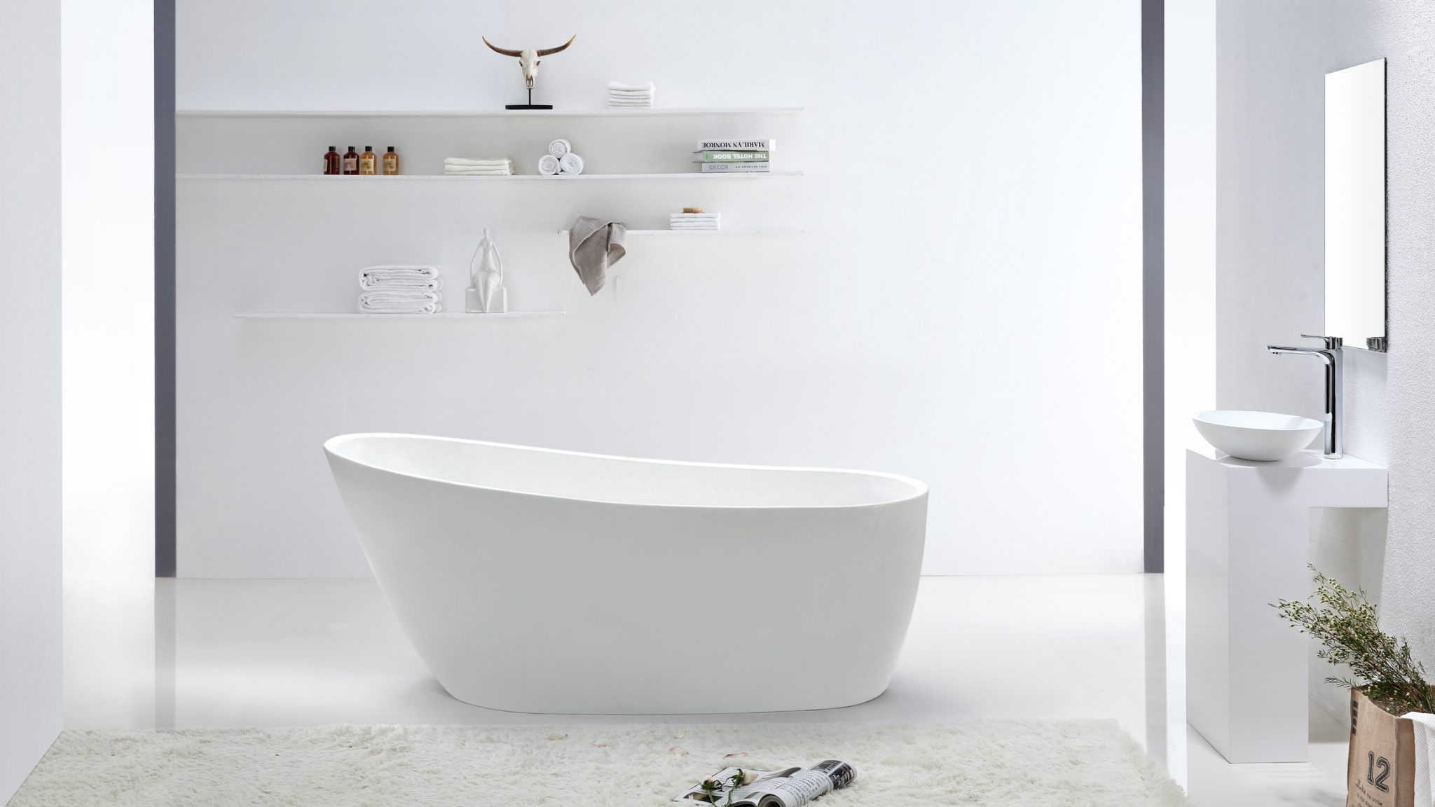 Island tub drain acri tec bath and kitchen products - Claude 54