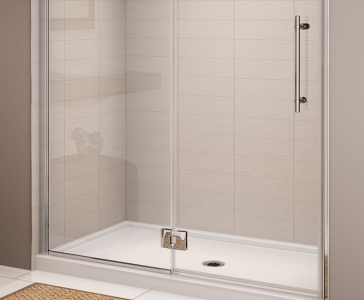 single threshold shower bases