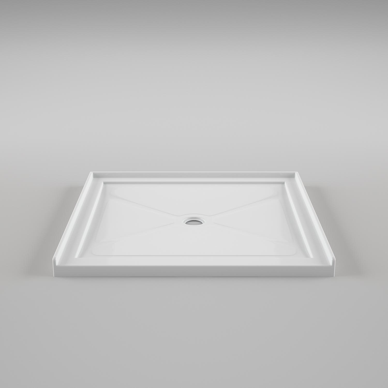 Single Threshold Minimalist Shower Base